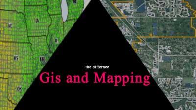 تهیه نقشه ها با GIS