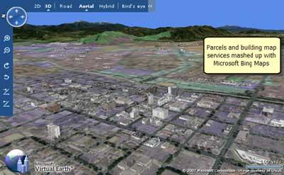 نقشه های حرفه ای GIS