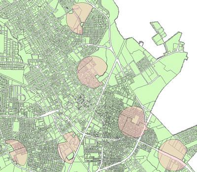 حل کردن مسائل به وسیله ی GIS