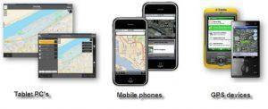 کاربردهای Mobile , GIS
