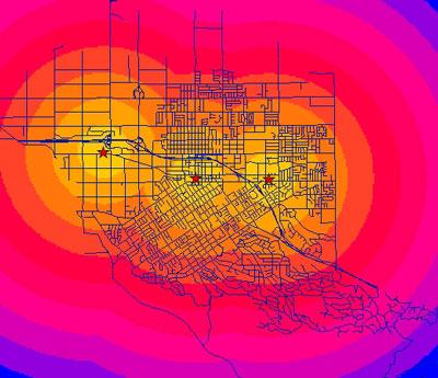 تحلیل مکانی (Spatial Analyst)