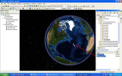 ساختن دادههای سطح زمینی با ArcGIS